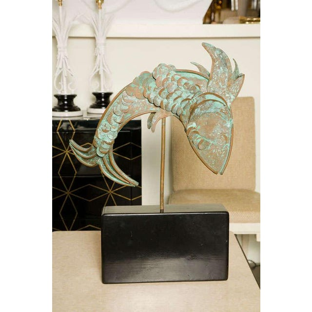 Metal Fish Sculpture For Sale In Los Angeles - Image 6 of 8
