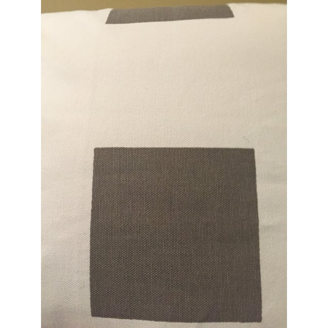 Gray & White Geometric Pillows - Set of 4 - Image 6 of 11