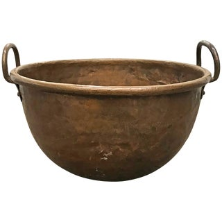 18th Century French Riveted Copper Confectioner's Pot For Sale
