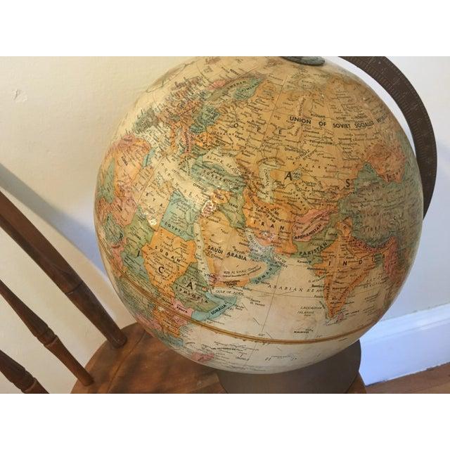 "Vintage 1990 Replogle World Classic Series 12"" Diameter Globe For Sale - Image 10 of 13"