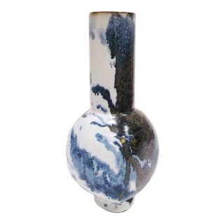 Studio Pottery | Hand Built Stoneware Flower Vase | Decorative Vases | Flower Vases For Sale