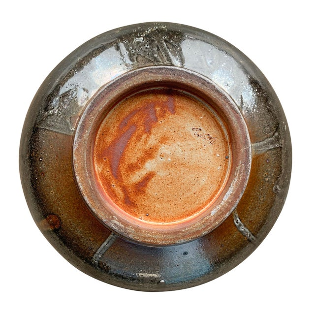 Vintage Studio Pottery Bowl For Sale - Image 11 of 12