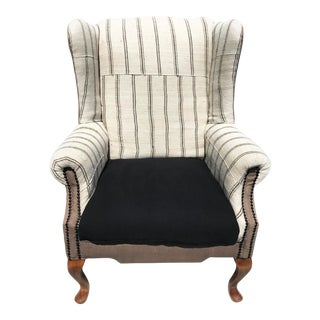"""Country Chic """"The Cassidy"""" Wingback Armchair"""