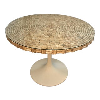 Handmade Wine Cork Table For Sale