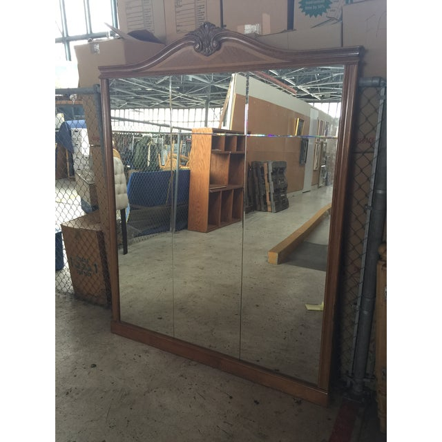 Louis XVI Large Loius XVI French Pier Mirror For Sale - Image 3 of 13