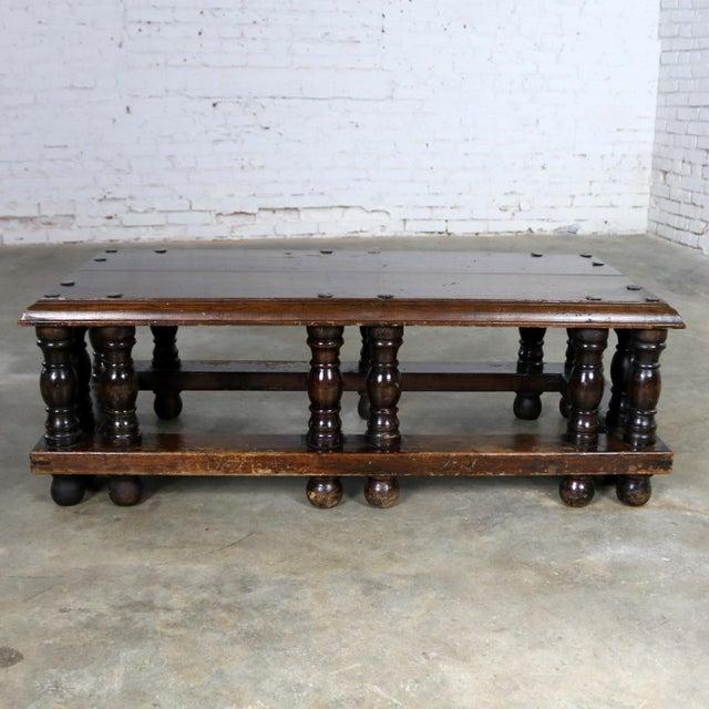 Spanish Revival Style Rectangular Coffee Table Artes De Mexico Internacionales Attribution For Sale - Image 13 of 13
