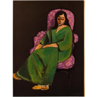 "1947 Henri Matisse, ""Seated Woman"" Original Period Parisian Lithograph For Sale"