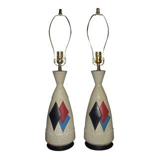 Vintage Argyle Table Lamps - a Pair For Sale
