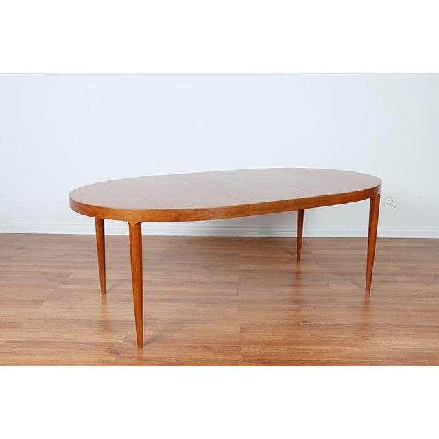 Skovmand & Anderson Danish Mid Century Teak Dining Table - Image 5 of 8