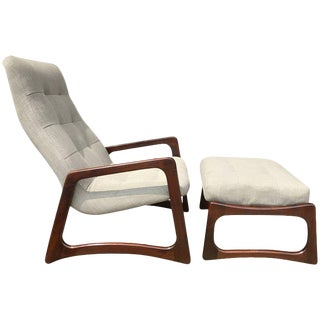 Adrian Pearsall Lounge Chair & Ottoman for Craft Associates For Sale