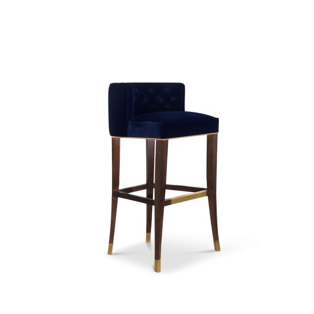 Bourbon Bar Chair From Covet Paris For Sale - Image 6 of 9