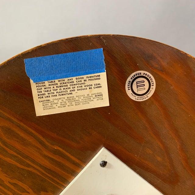 Howard McNab & Don Savage, Lotus Side Table, Usa 1961 For Sale - Image 9 of 10