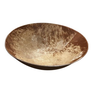 Extra Large Cowhide Bowl