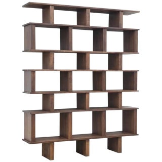 Tall 'Verticale' Shelving Unit For Sale