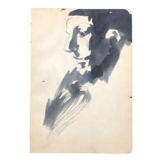 Portrait of a Man 1961 For Sale