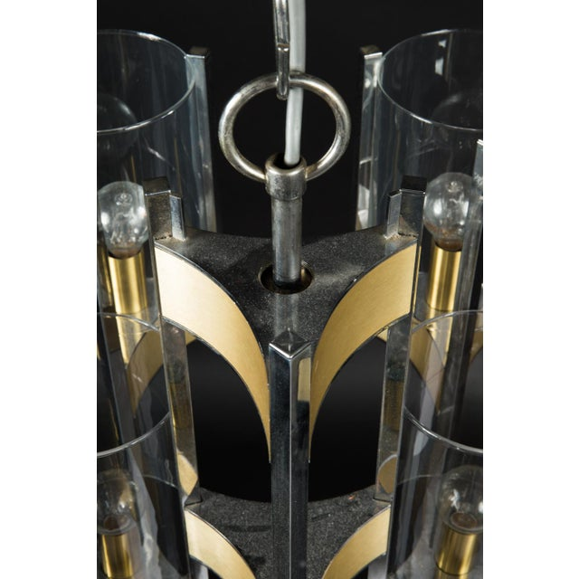 Hurricane Chandelier by Gaetano Sciolari For Sale - Image 9 of 11