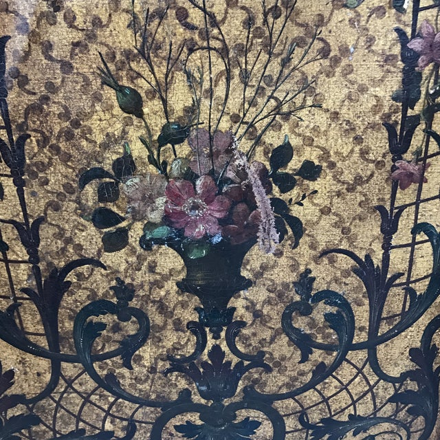 Italian Leather Embossed Screen - Image 6 of 9