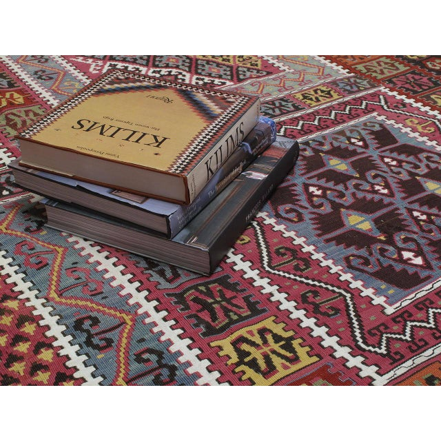 Late 19th Century Superb Antique Bayburt Kilim For Sale - Image 5 of 10