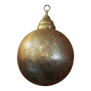 Moroccan Copper Ceiling Lamp