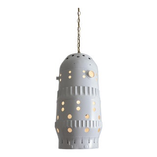 Mid-Century Combustion Chamber Pendant Light For Sale