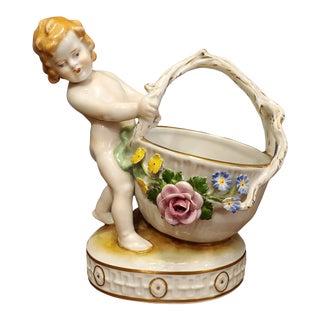 Mid 20th Century Schierholz Porcelain Condiment Serving Dish For Sale