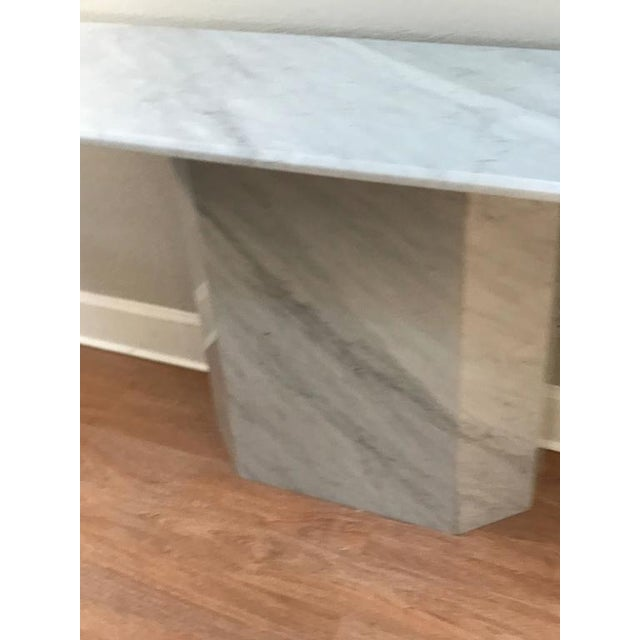 Italian Modern Carrera Console Table - Image 5 of 8