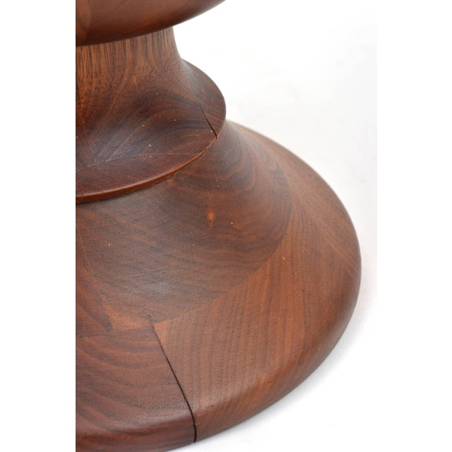 Herman Miller Vintage Eames Walnut Time Life Stool Model B, Circa 1960s For Sale - Image 4 of 11