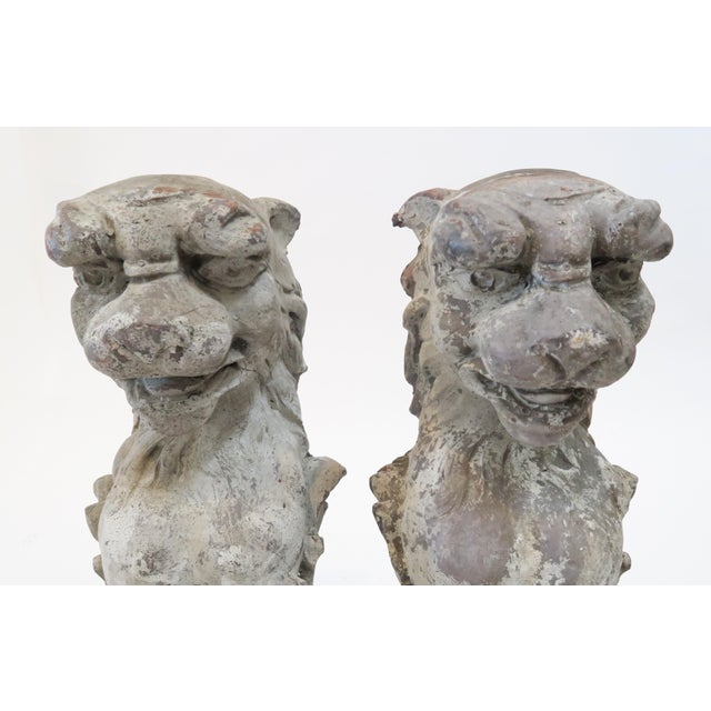 Lion Fireplace Bracket Molds - A Pair - Image 5 of 8
