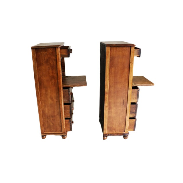 These 19th Century attractive secretaries have been lovingly crafted with clean lines and an elegant design using old...