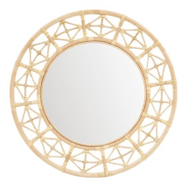 Image of Newly Made Rattan Mirrors
