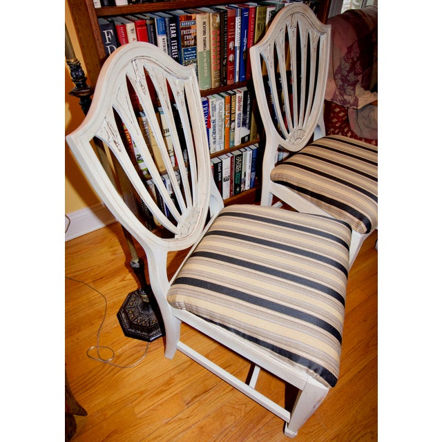 Vintage 1940s Accent Chairs - a Pair For Sale - Image 4 of 11
