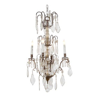 Late 19th Century Baccarat Chandelier For Sale