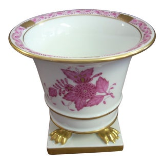 1950s Vintage Herend Chinese Bouquet Vase For Sale
