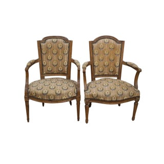 19th Century Louis XVI French Chairs - A Pair