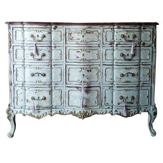 20th Century Louis XV Empire Furniture Commode For Sale