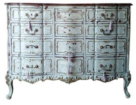 Image of Shabby Chic Armoires Wardrobes and Linen Presses