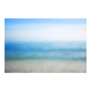 "Cheryl Maeder, ""Sea & Sky V"", Archival Photographic Watercolor Print"