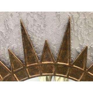 Gilt Metal Starburst Mirror Preview