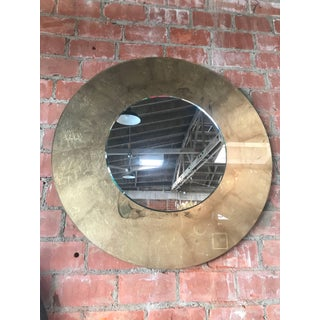 Italian Round Mirror With Gold Leaf Preview