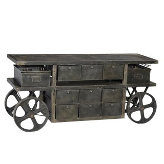 Industrial Trolley Cart With Wheels