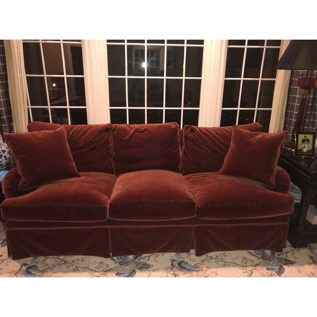 Mohair Upholstered O'Henry House Sofa - Image 2 of 7