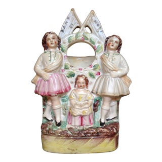 Antique English Staffordshire Figurine For Sale