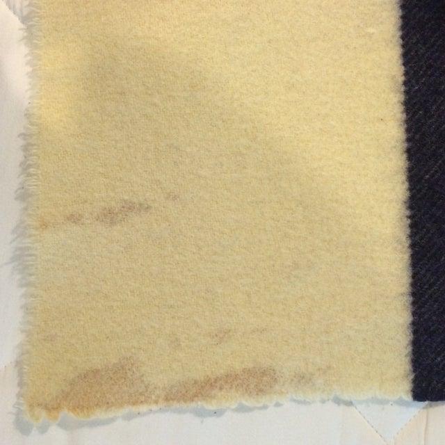 Vintage Hudson Bay Point Blanket - Image 9 of 9