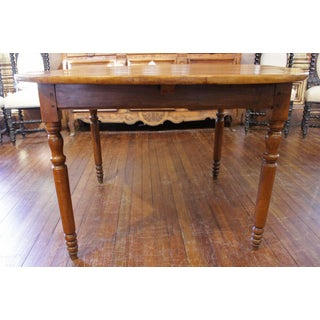 19th Century Country French Round Dining Table Preview
