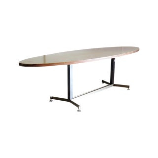 Italian Techno Style Dining Table For Sale