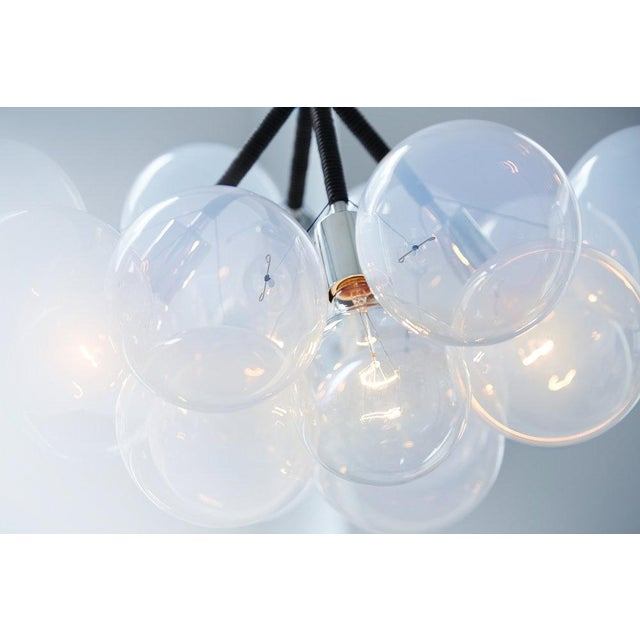 Radnor Pelle Wreath Bubble Chandelier For Sale - Image 4 of 6
