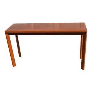 Mid Century Modern Vejle Stole Møbelfabrik Console Sofa Table For Sale