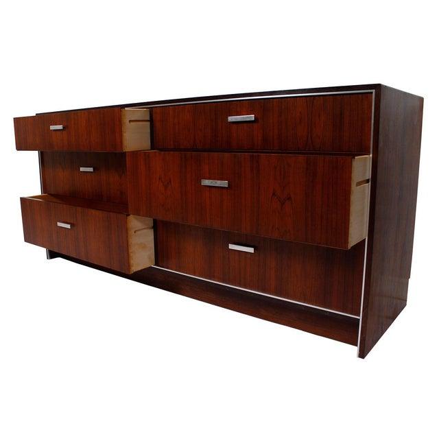 Danish Modern Falster Danish Rosewood Dresser Sideboard For Sale - Image 3 of 9