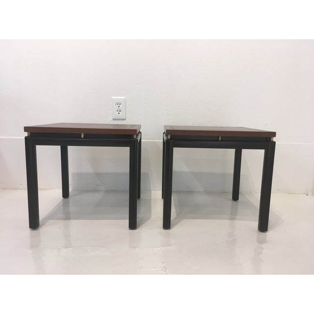 Michael Taylor/ Baker Funiture Side Tables - a Pair For Sale - Image 10 of 10