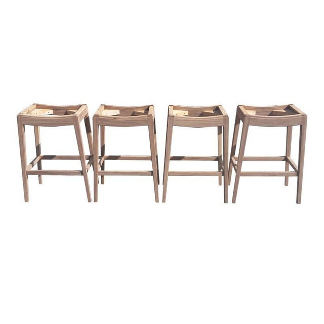 """Slant LA Custom to Order """"Belly Up to the Bar"""" Collection Stools For Sale - Image 4 of 6"""